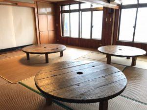 テーブルの作成(リフォーム)